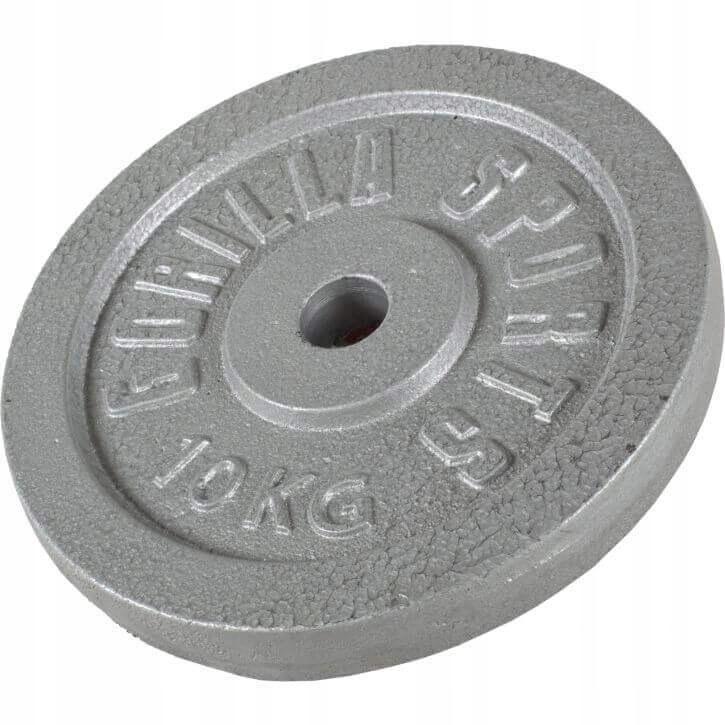 Zaťaženie liatiny 10 kg, Gorilla Sports 30 mm