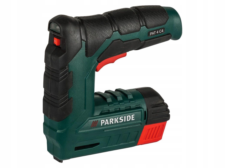 Аккумуляторный степлер и гвоздезабиватель PARKSIDE 4