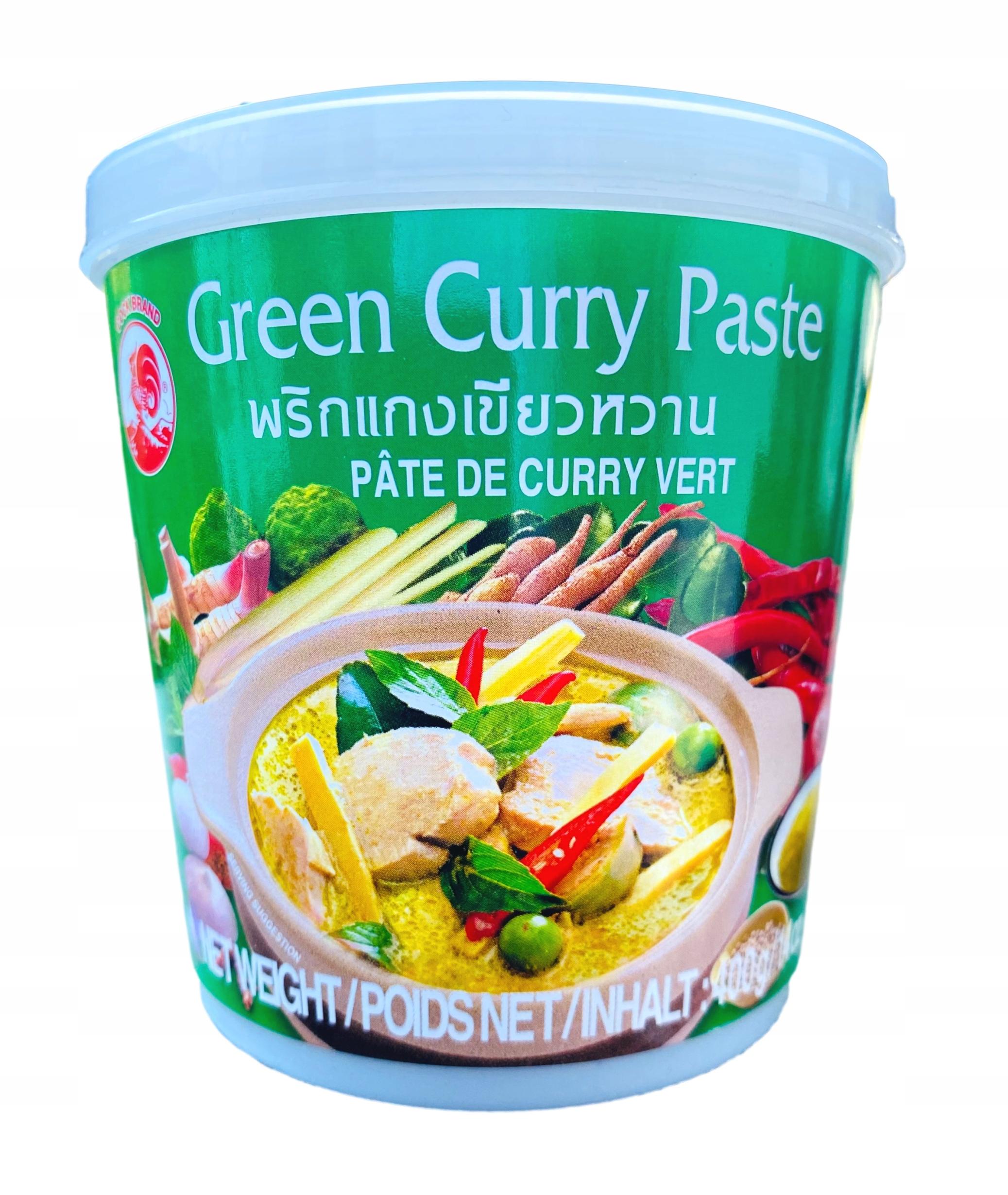 Зеленое карри Зеленая паста 400гр Thai COCK