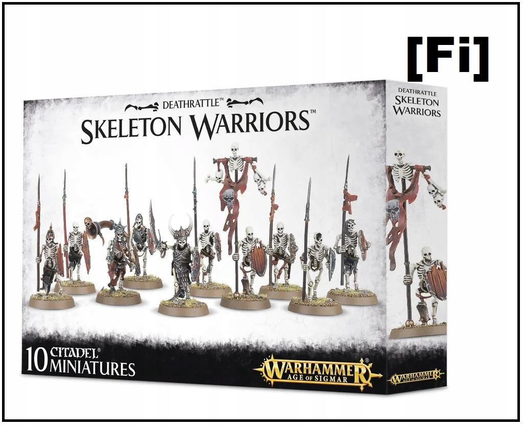 DeathRRARTTLE: Skeleton Warriors WH AOS [~ fi]
