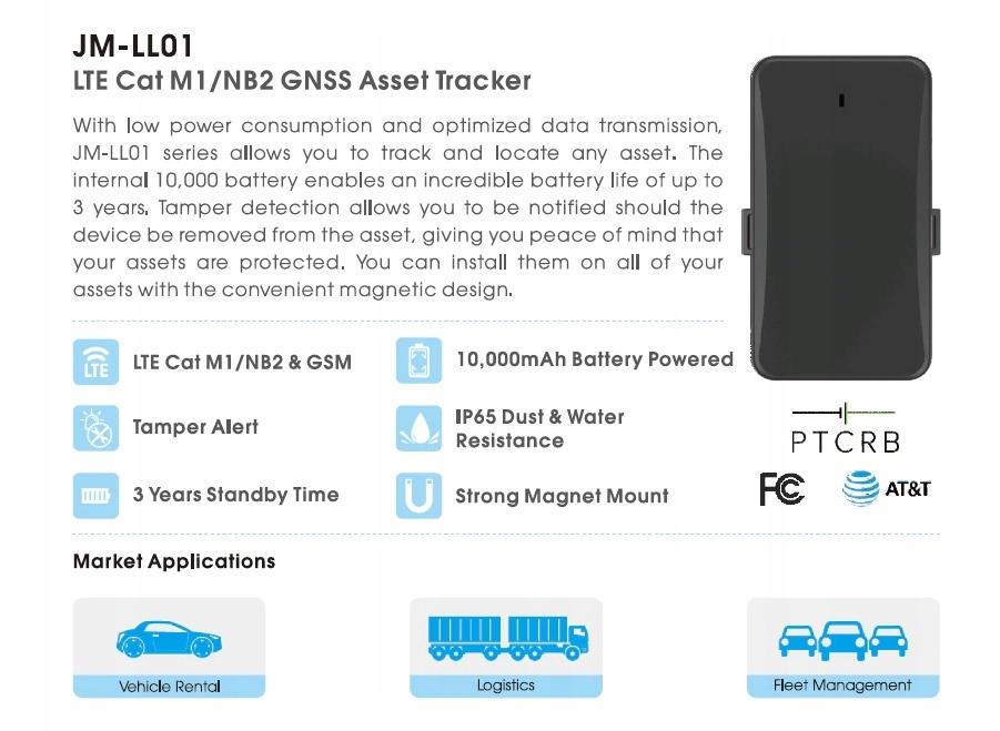 Lokalizator Samochodowy GPS Nadajnik 4G LTE Gsm Numer katalogowy producenta 2020
