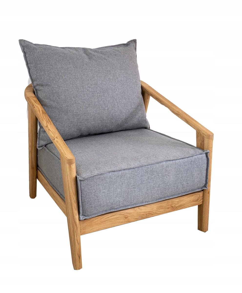 Современное гнутое кресло из дуба