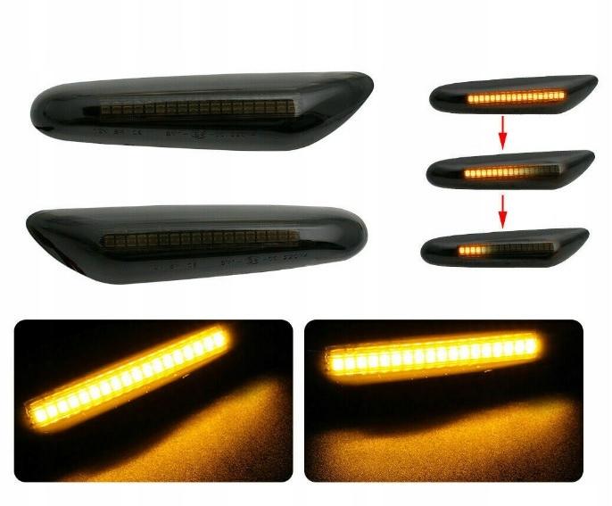 фонарь указателя поворота led динамические к e46 e60 e90 e87 x3