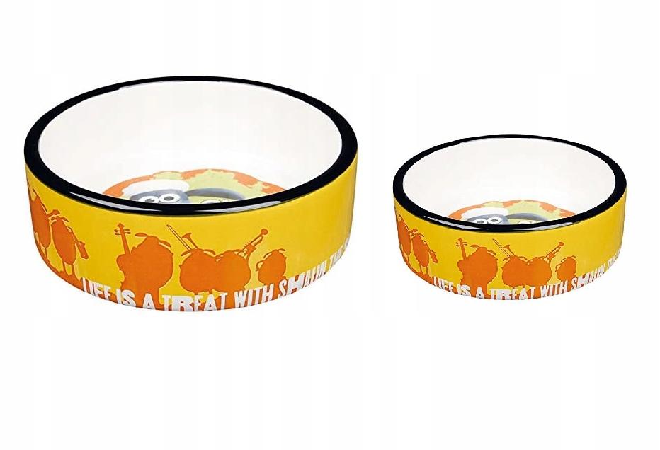 Миски TRIXIE Cat Dog Bowl Ceramics 800 мл + 300 мл