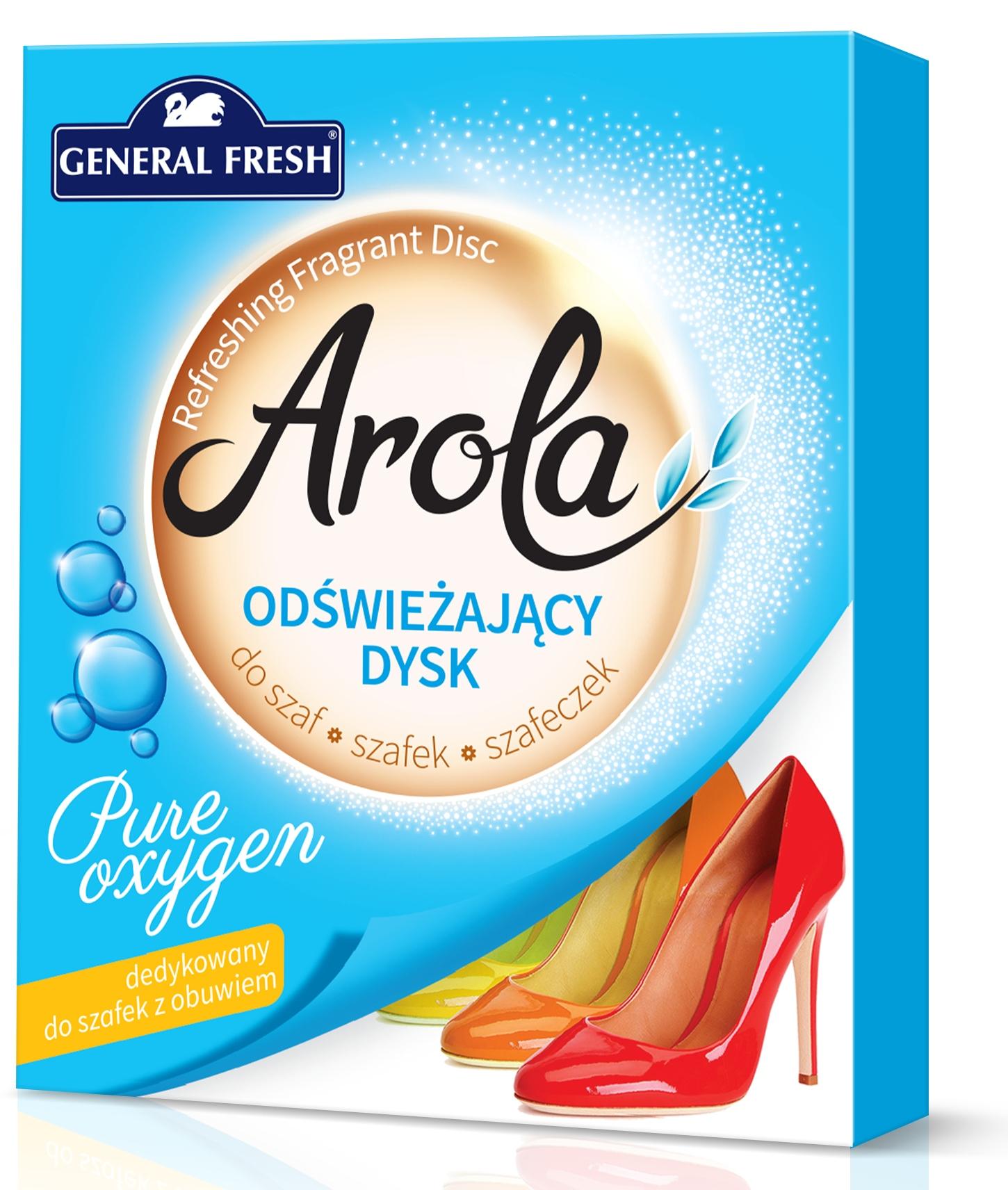 Освежающий диск Arola для гардероба Pure Oxygen