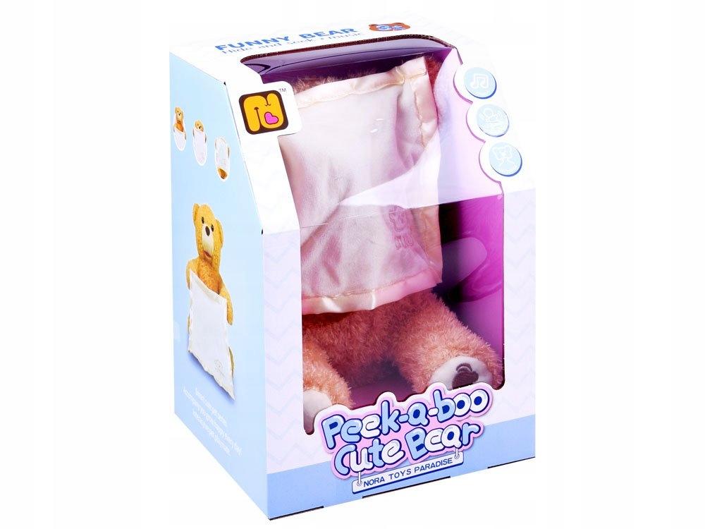 Купить Плюшевый мишка Peek-a-boo в прятки ZA3552 на Otpravka - цены и фото - доставка из Польши и стран Европы в Украину.
