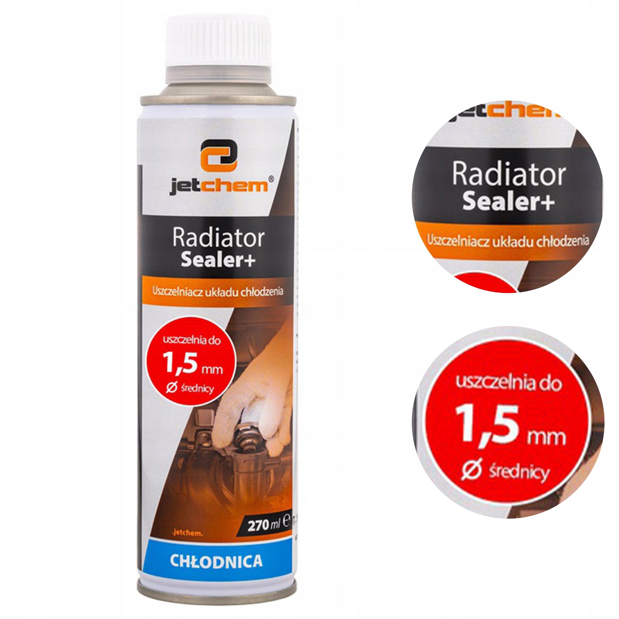 RADIATOR SEALER герметик для радиаторов DO 1.6 мм