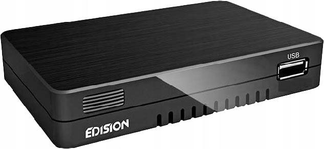 Tuner Edision Progressiv Hybrid Lite DVB-T2 H.264 9386131725 - Sklep internetowy AGD, RTV, telefony, laptopy - Allegro.pl