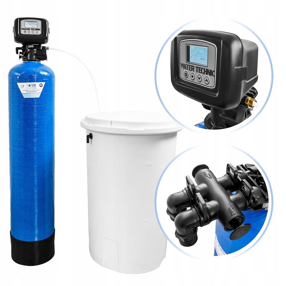 ZMIĘKCZACZ WODY WATER TECHNIC 35 UP-FLOW + DODATKI