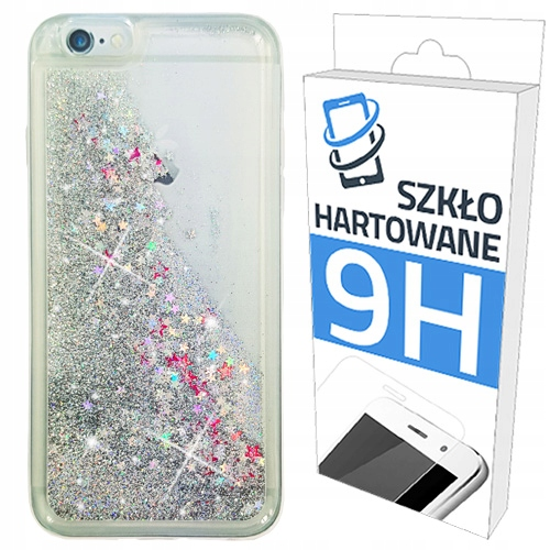 Etui Brokat+szkło Hartowane do Apple Iphone 6/6S