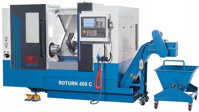 KNUTH Roturn 400 C Tokarka dwuosiowa CNC