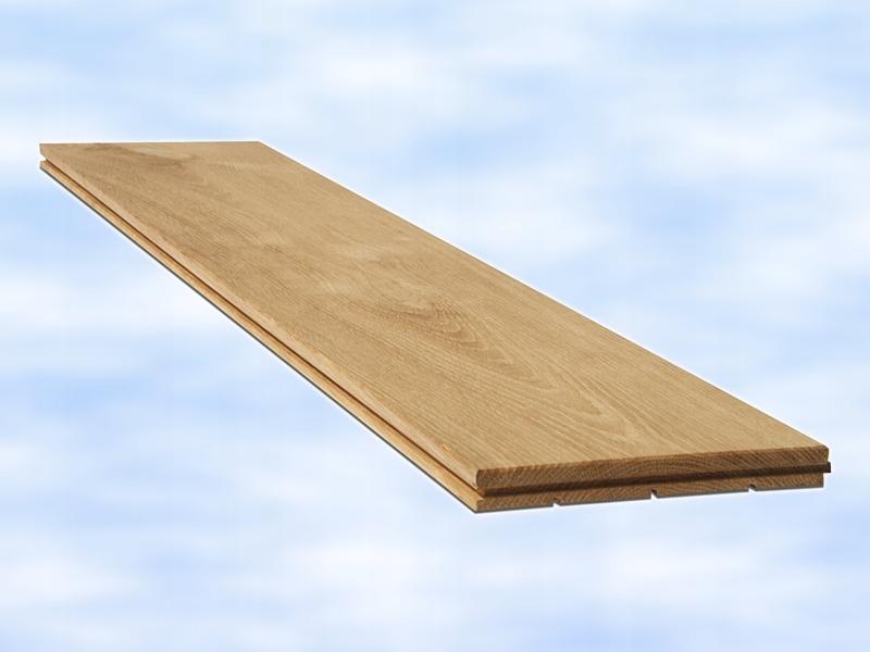 Паркетный пол Дуб Solid Raw Flooring 12см