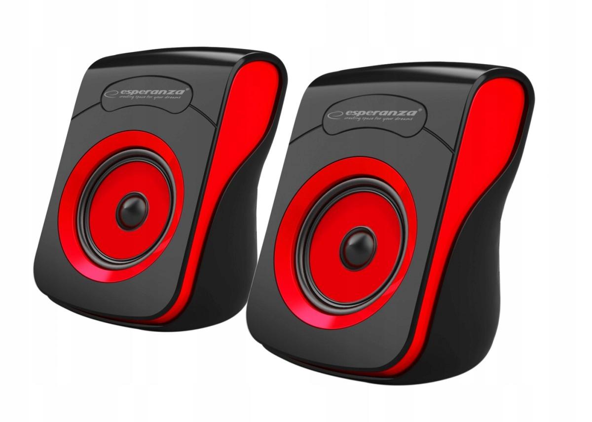 Купить Głośniki 2.0 USB FLAMENCO czarno-czerwone на Otpravka - цены и фото - доставка из Польши и стран Европы в Украину.