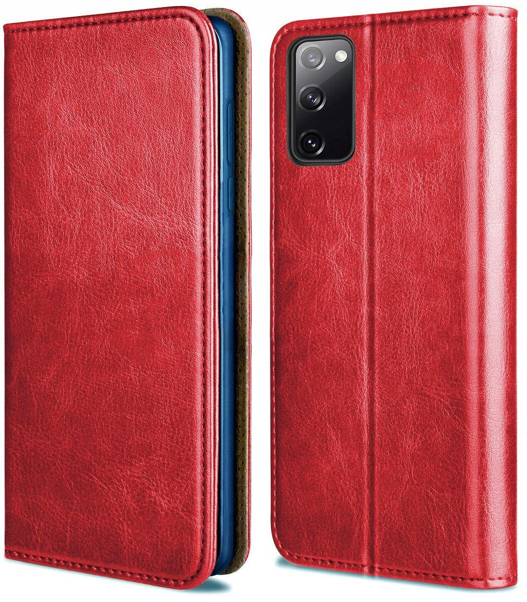 Etui do Samsung Galaxy S20 FE Skórzane Case Szkło