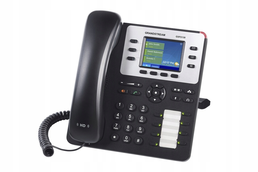 Купить GRANDSTREAM ТЕЛЕФОН MCHQ40V12A GXP 2130 V2 HD-MUX-8 на Eurozakup - цены и фото - доставка из Польши и стран Европы в Украину.
