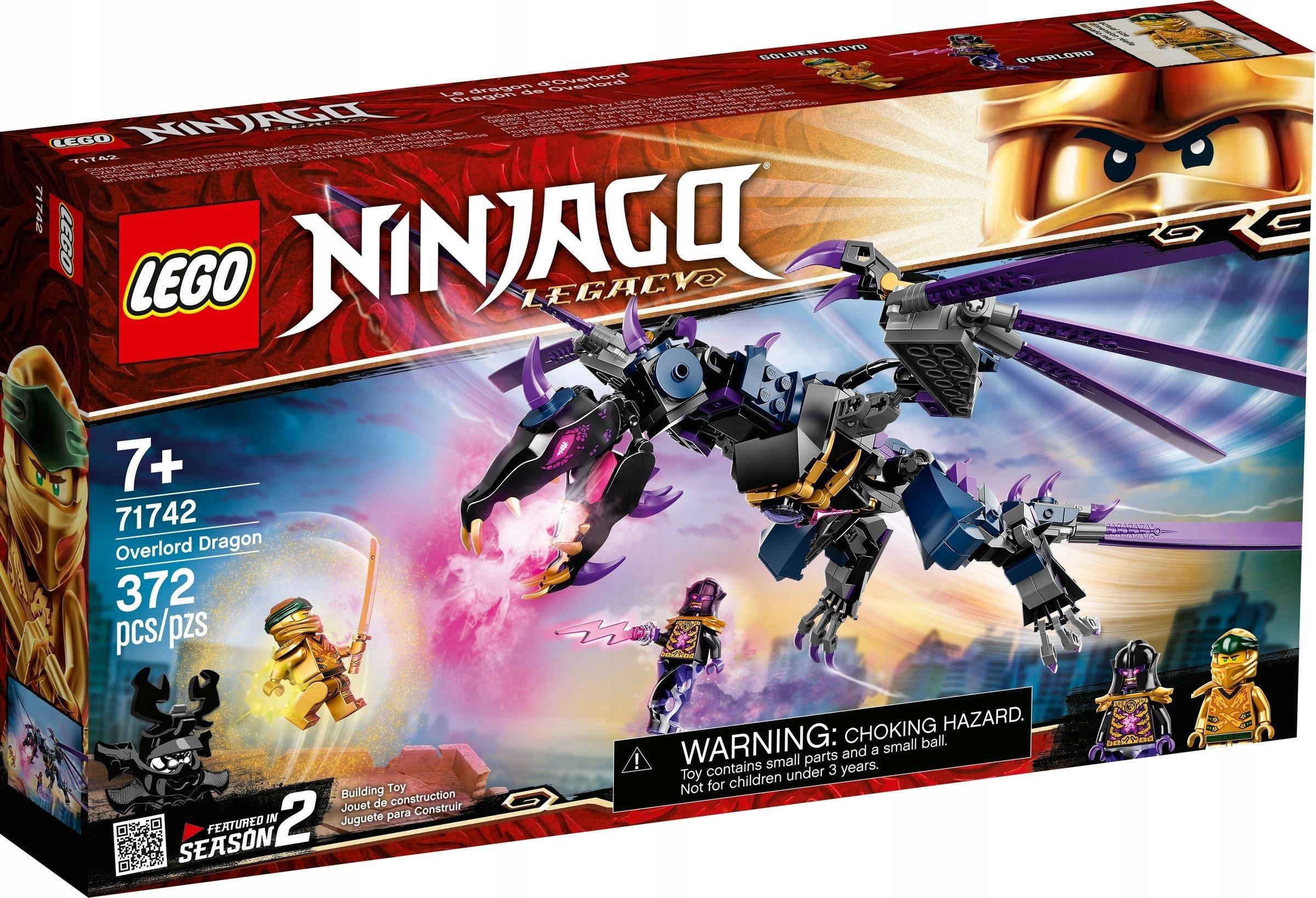 LEGO NINJAGO Повелитель драконов 71742
