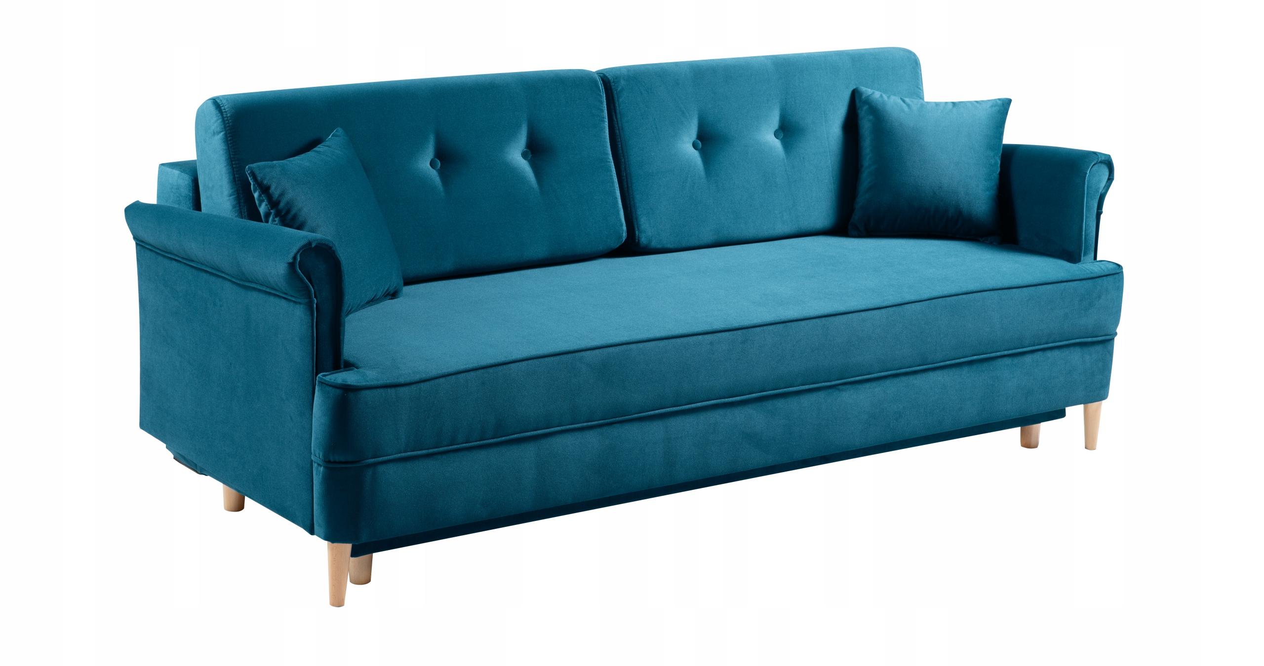 LUIS Sofa stilvolle Sofa Schlafbehälter Farben Kollektion ELN51