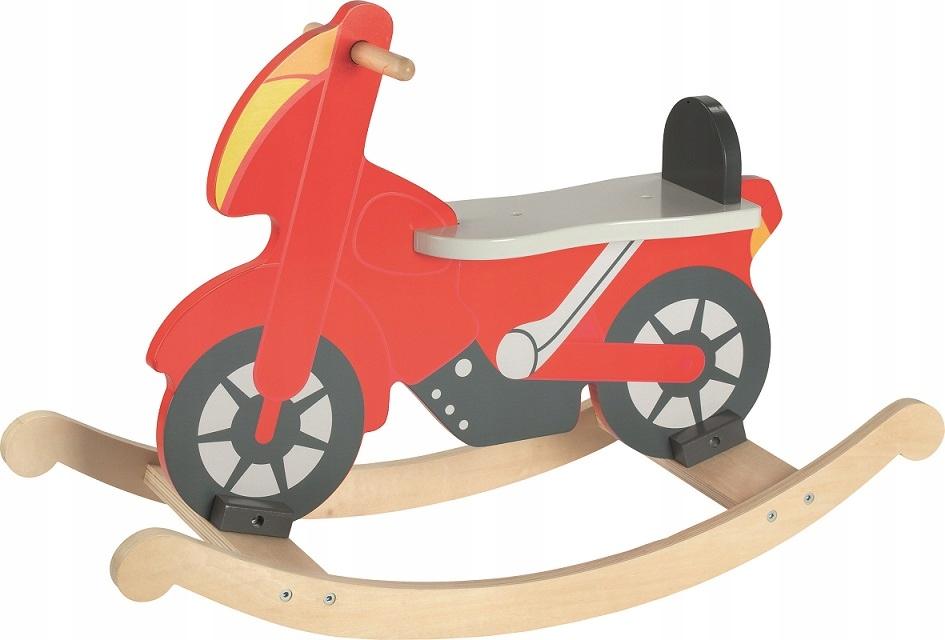 Drevená hojdacia motorka pre chlapca Goki