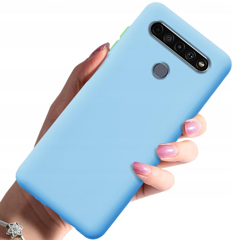 Etui do LG K51S Case Silikon + Szkło 9H Dedykowany model LG K51S