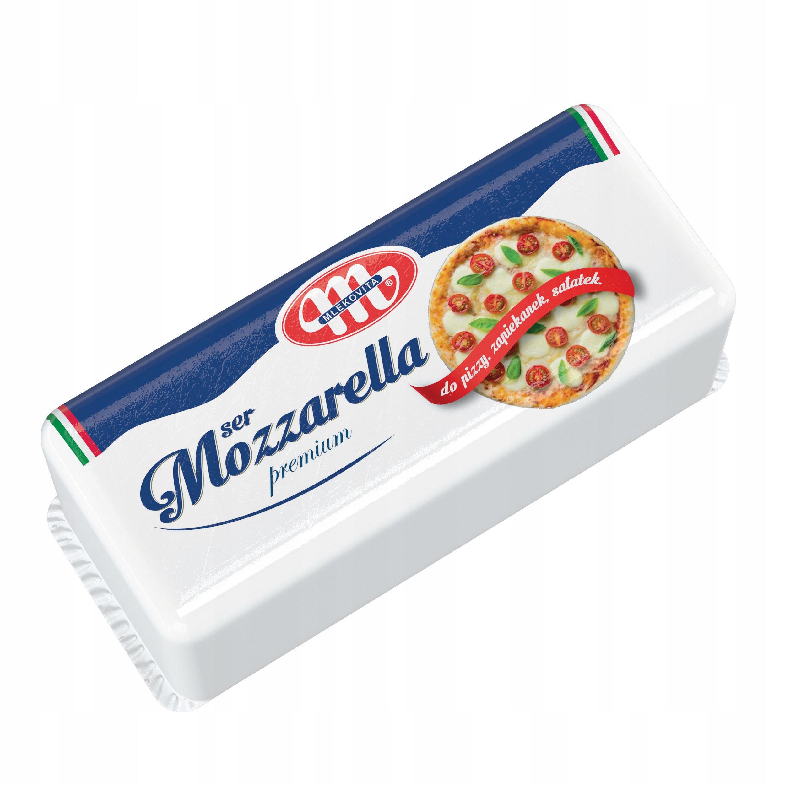 Ser Mozzarella blok 2,5 kg Mlecovita