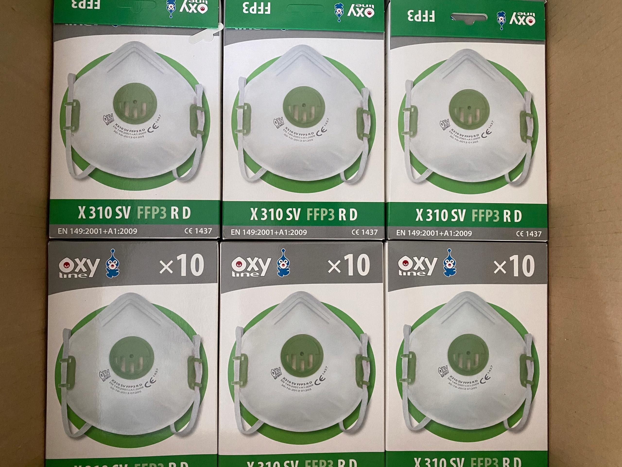 Купить мышки ANTYWIRUSOWA маска OXYLINE FFP3 РД SK24297 на Eurozakup - цены и фото - доставка из Польши и стран Европы в Украину.