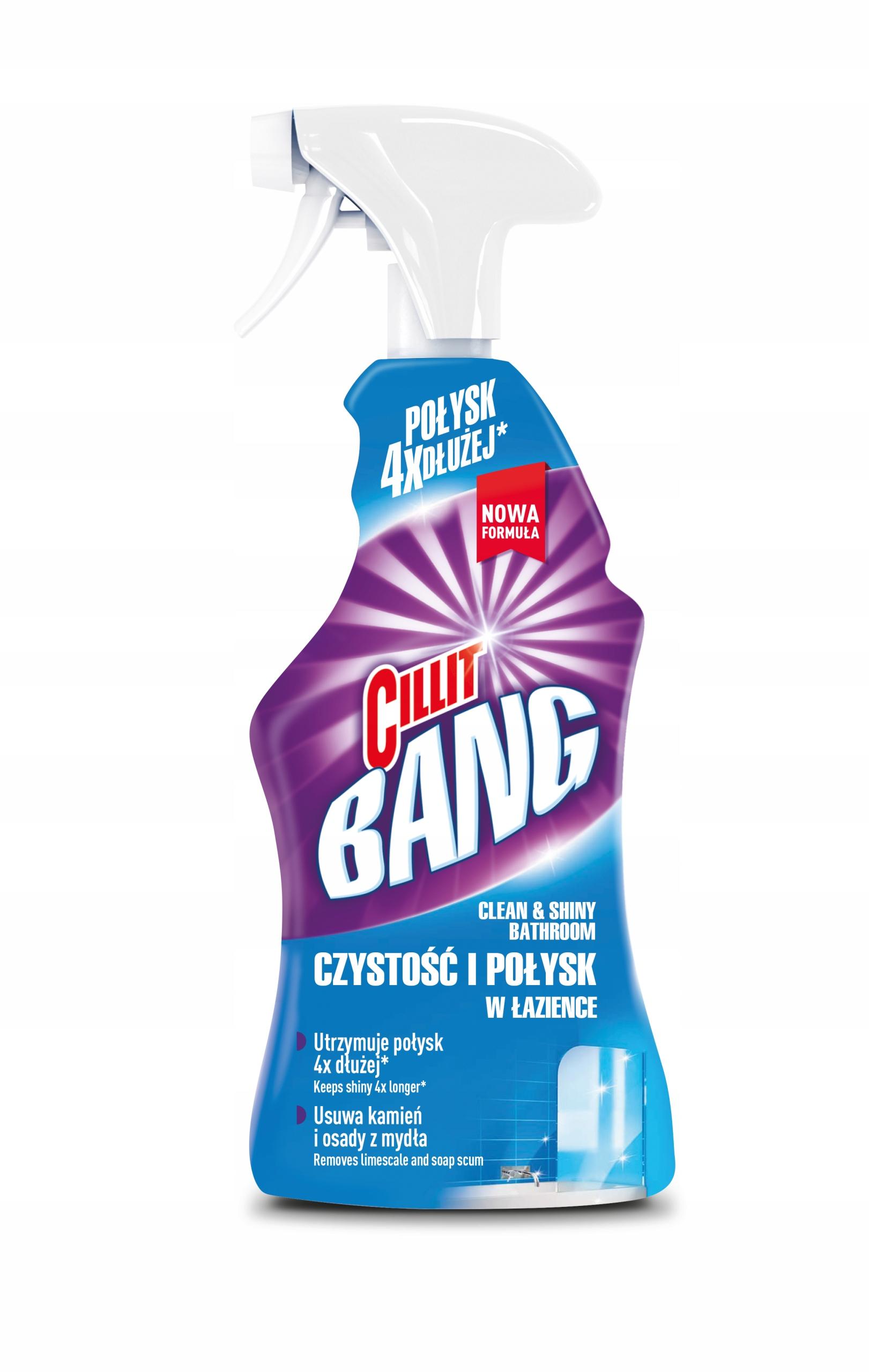 Cillit Bang чистящие жидкости Набор XL 6 шт тип очистки многофункциональный