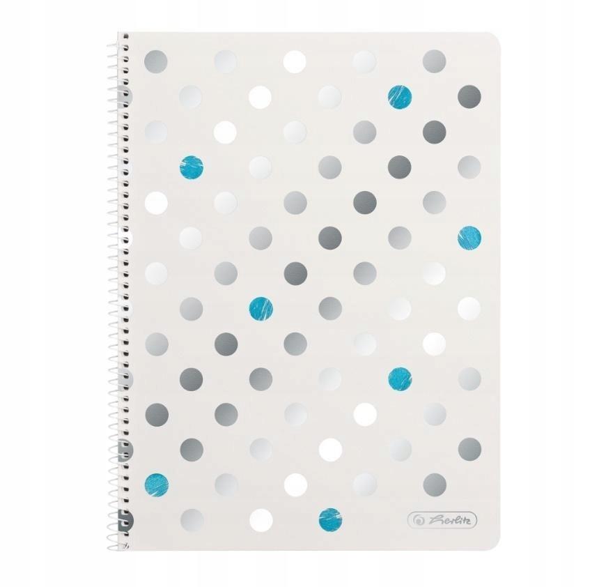 Špirálový notebook A4 / 80K Frozen mriežka (5ks)