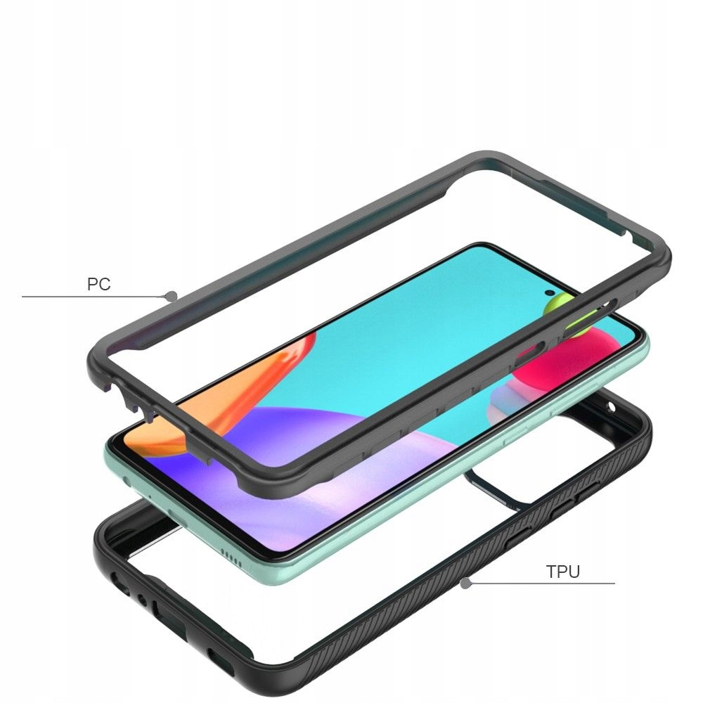Etui Defense 360 do Samsung Galaxy A52 4G / 5G Kolor czarny