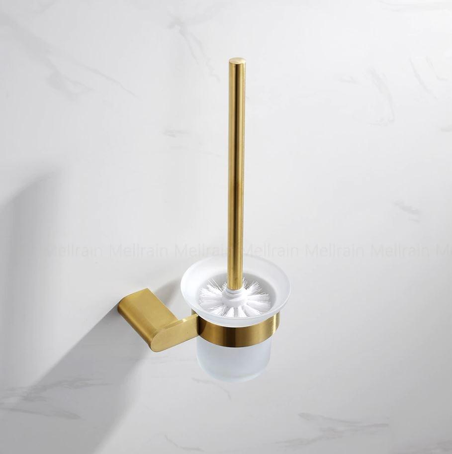Zlatá toaletná kefa Hanga série 2