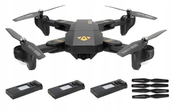 Dron Visuo XS809HWG XS809H W G 3AKU FPV WiFi 2Mpx