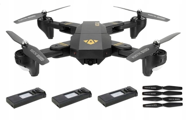 Item Drone Visuo XS809HWG XS809H-IN-G 3AKU FPV WiFi 2 MP