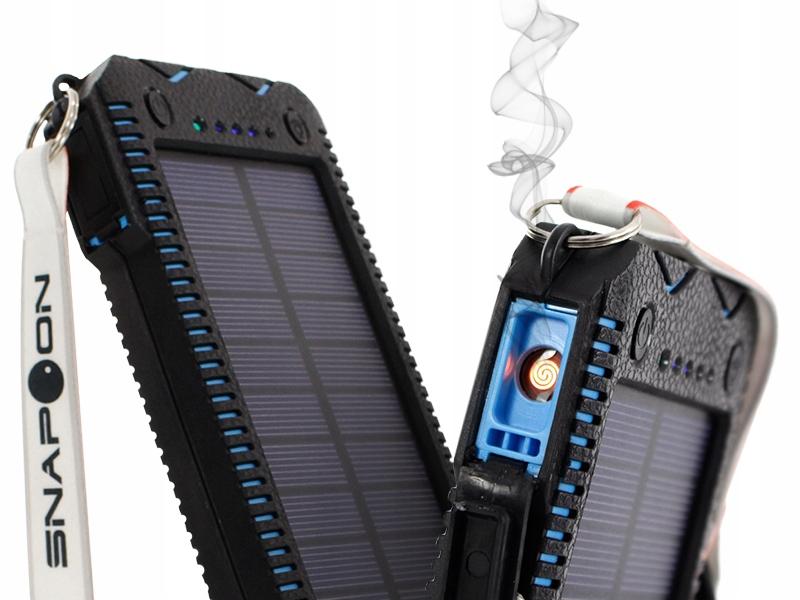 Turystyczny Powerbank 20000mAh bateria słoneczna