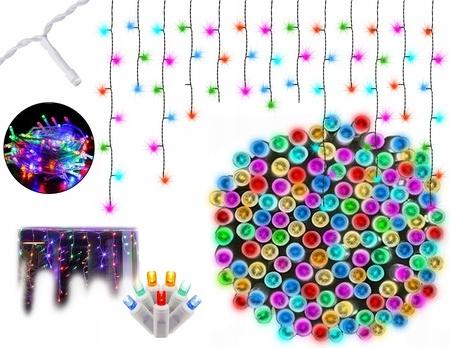 300 разноцветных светодиодных сосулек с программатором