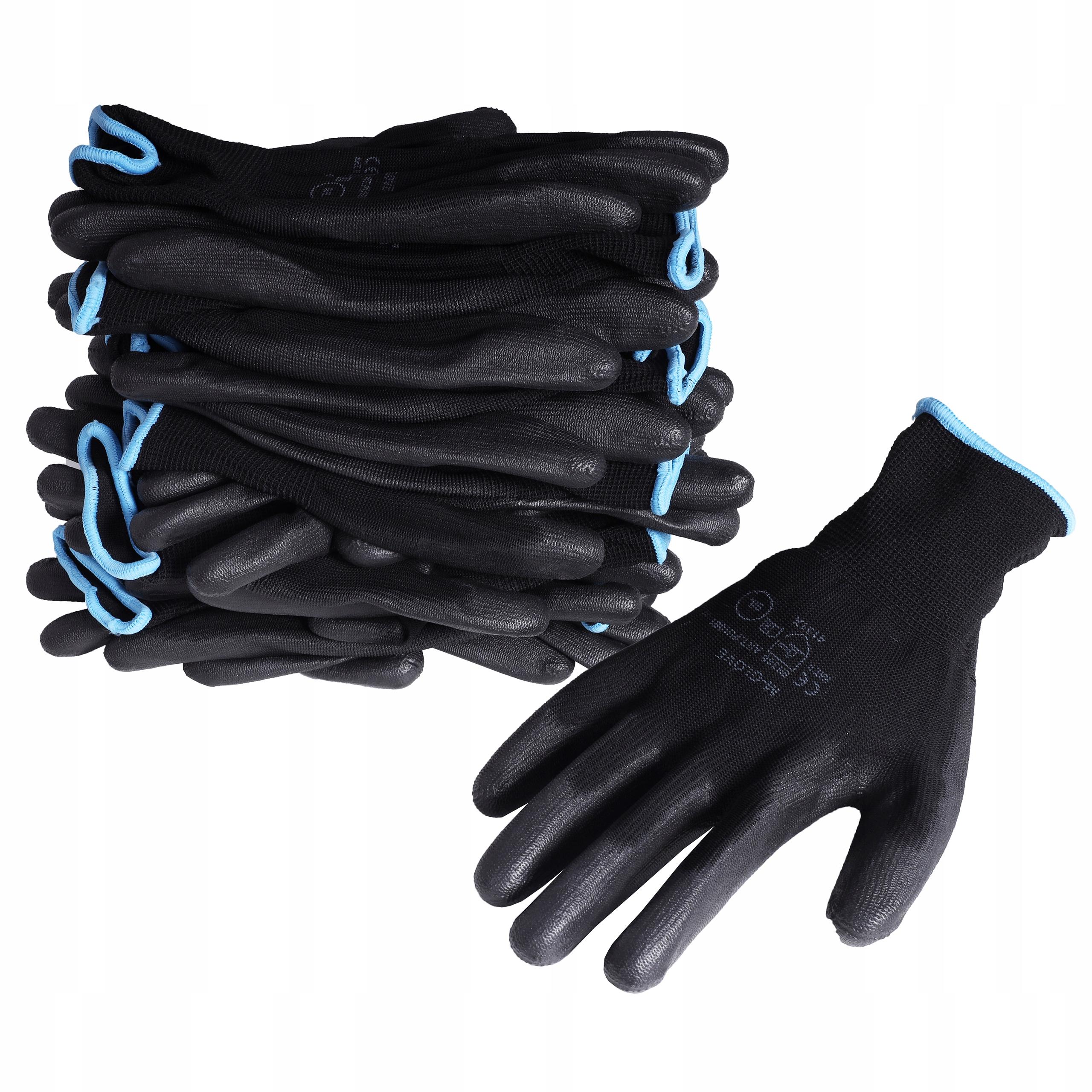 10 пар перчаток, рабочие перчатки из полиуретана