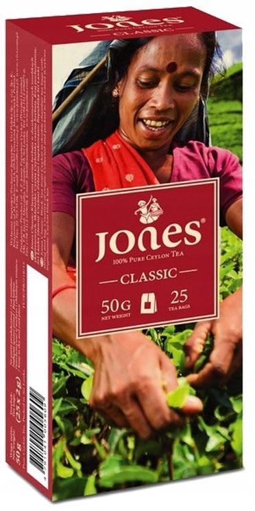 JONES 20tb Экспресс CEYLON Tea