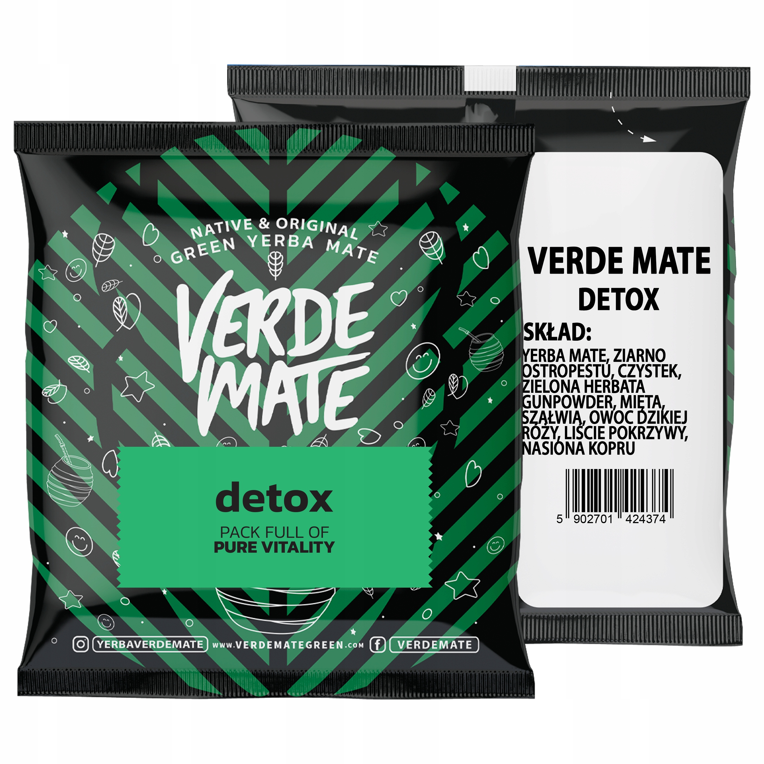 Yerba Verde Mate Detox 50g próbka
