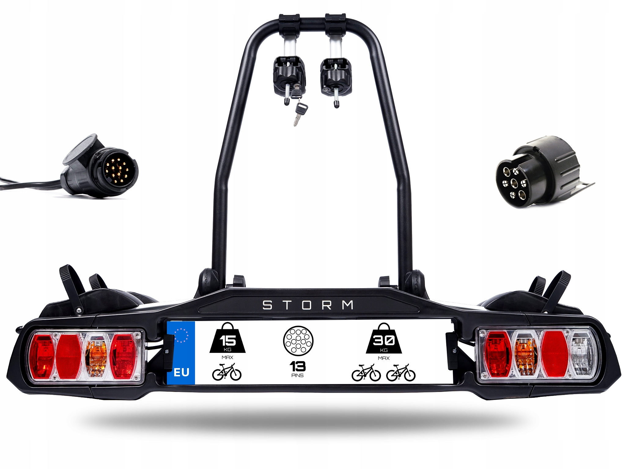 ШТОРМ 2 - Багажник, велосипедный держатель для крючка на 2 велосипеда