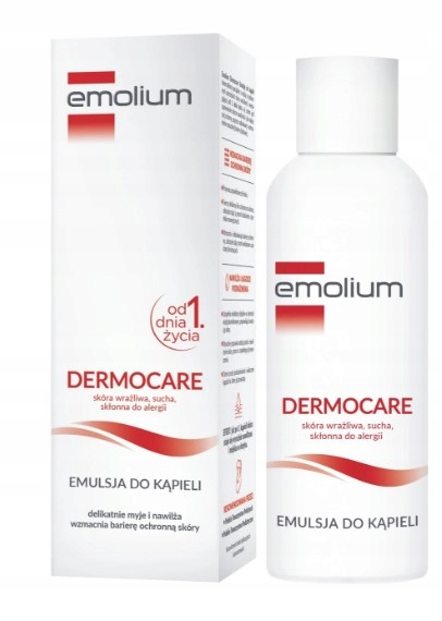 Item EMOLIUM EMULSION FOR BATHING 400 ML from 1 day of life