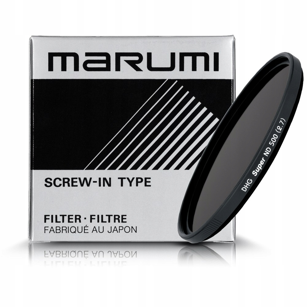 Marumi Filter Super DHG ND500 +9 EV GRAY 72 mm