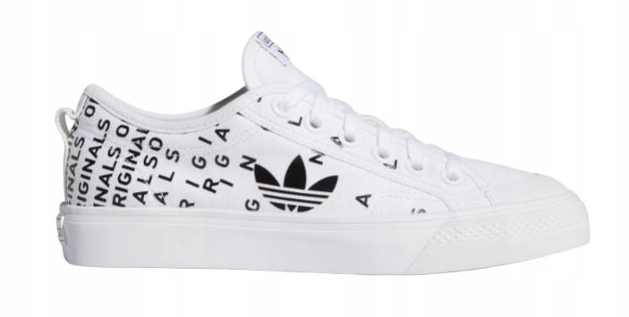 40 2/3 Buty Damskie Adidas Nizza Białe Trampki