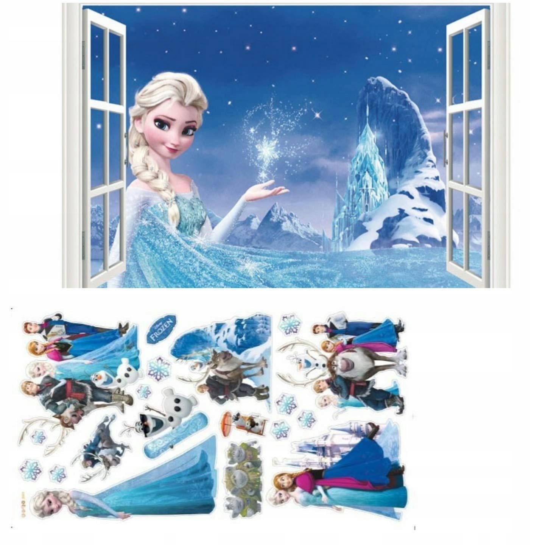 Kibi 2 Frozen Frozen Nálepky na stenu pre denník