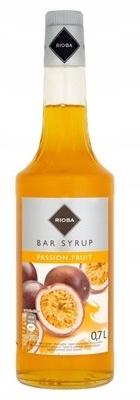 Rioba Syrop barmański o smaku MARAKUJA 0,7 l