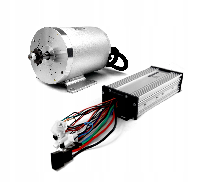 BLDC 36V 800W + 36V 1000W контроллер