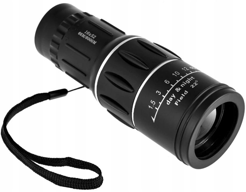 Монокулярный 16x52 Bak-4 Lunettle Binoculars Ночной день