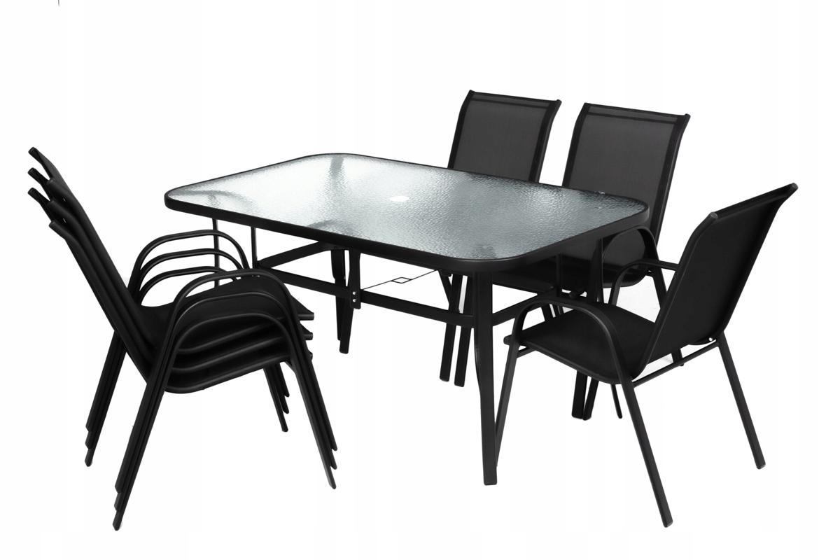 Sada záhradného nábytku pre 6 osôb Typ stola a stoličiek