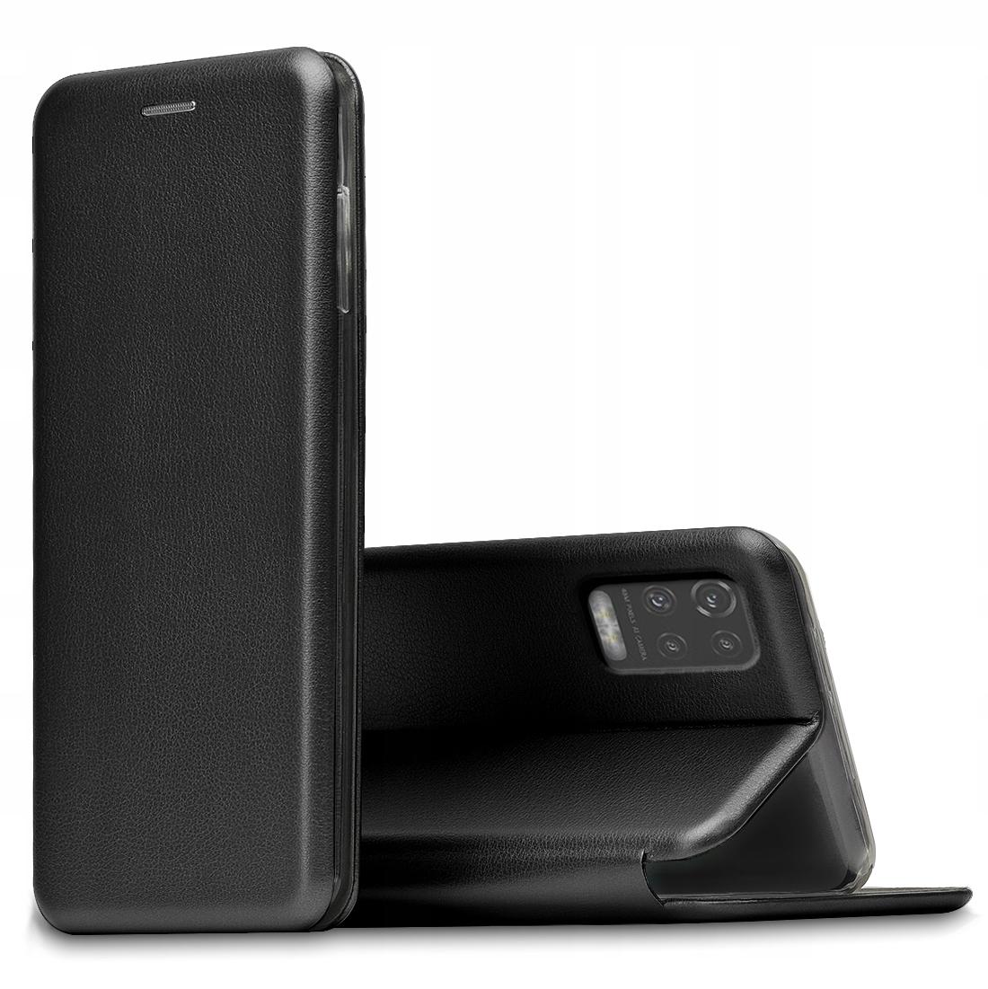 Etui do LG K52 Skórzane Magnet Case + SZKŁO 9H