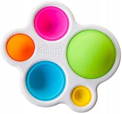 Kolorowe Bąbelki Dimpl zabawka sensoryczna POP