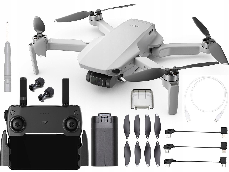 Item Drone DJI Mavic Mini 2.7 K FPV 2km 30min 12MP Gimbal