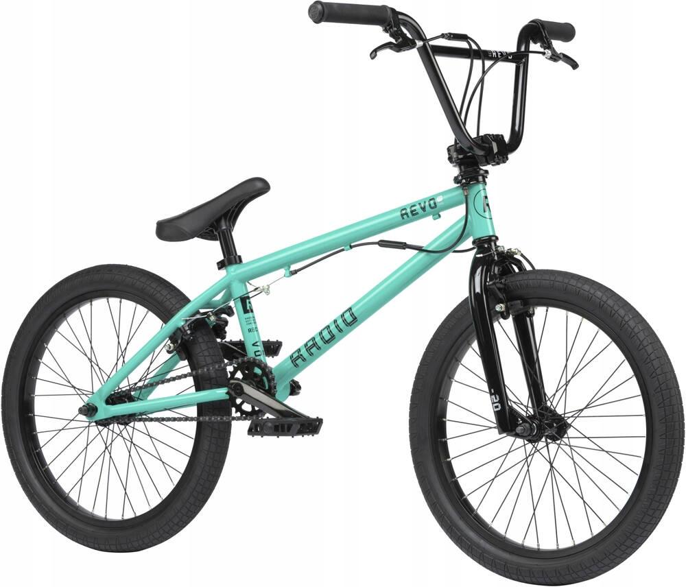 Купить BMX Bike Radio Revo Pro FS 2021 Mint + БЕСПЛАТНО на Otpravka - цены и фото - доставка из Польши и стран Европы в Украину.