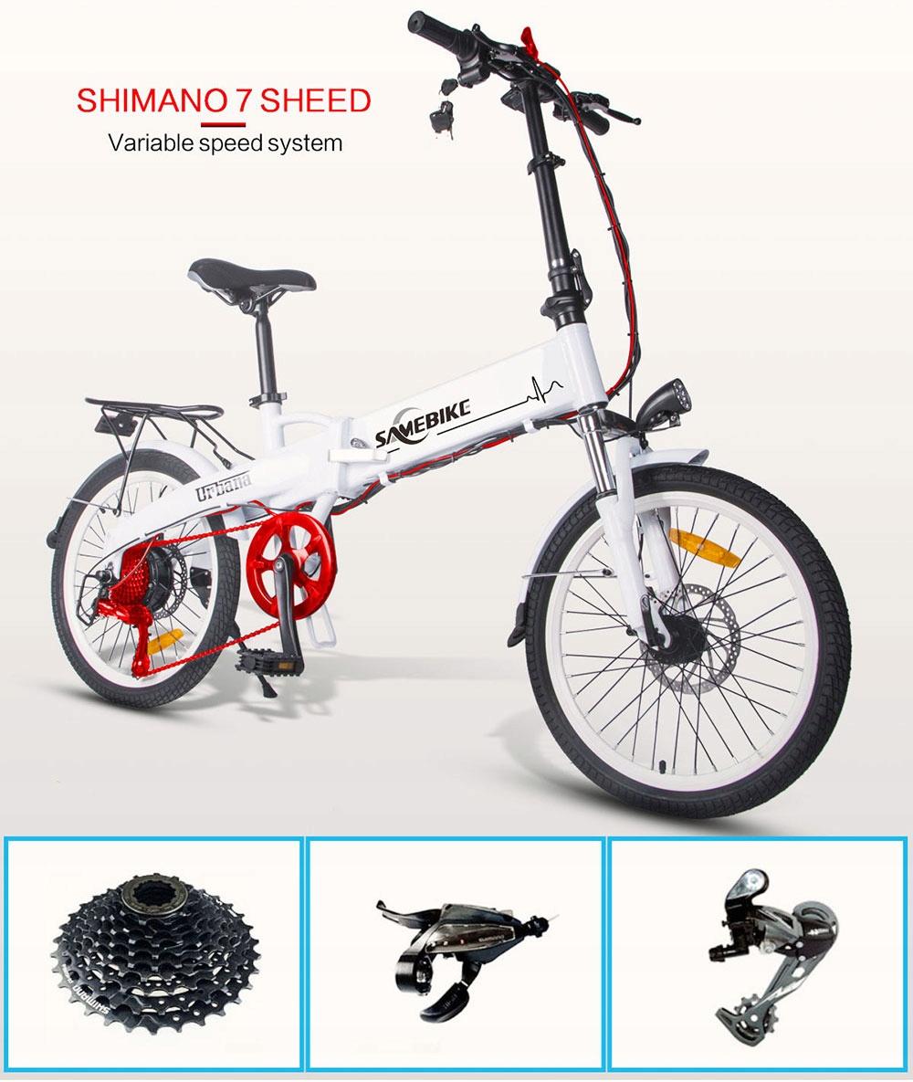 Samebike-JG20-Rower-elektryczny-250W-8Ah-Moc-silnika-250-W